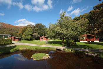 Fisherground Lodges in Eskdale
